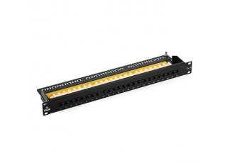 Patchpanel UTP CAT6 24 portov